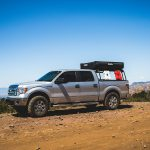 F150 truck with Leitner Rack and CVT Rooftop tent